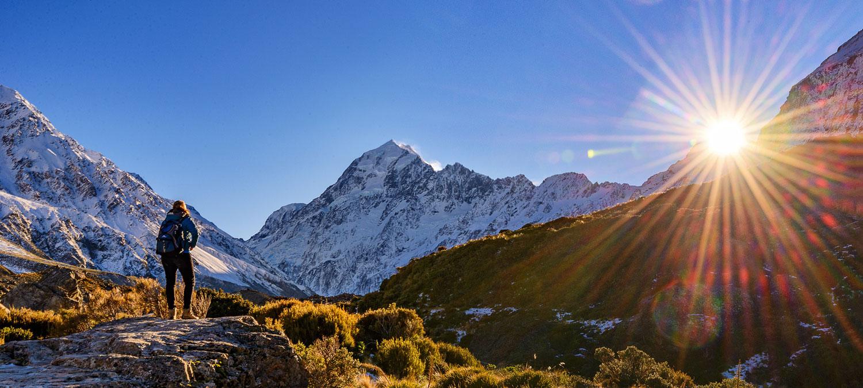 New Zealand travel planleggere Hotell Fly New Zealand Custom Vacations Reiser Reservasjoner